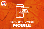 SEND MOBILE SMS TO USER