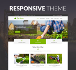 Gardener 12 Colors Theme Pack / Green / Garden / Flowers / Slider / Responsive / Parallax / DNN7/8/9