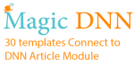 Magician : Connect to DNN Article Module,Template Builder