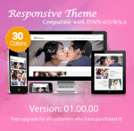 Wedding / 30 Colors / Mega Menu / Responsive / DNN 6.x, 7.x, 8.x & DNN 9.x