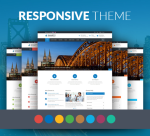 Smarty 12 Colors Business Theme Pack / Responsive / Company / Slider / Parallax / Flat / DNN6/7/8/9