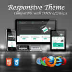Beautiful / 10 Colors / Bootstrap / Ultra Responsive / Parallax / DNN 6.x, 7.x, 8.x & 9.x