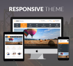 Justdnn Corpress 12 Color Responsive Theme / Business / MegaMenu / Mobile Site / Parallax / Company