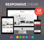 Justdnn Nexon 12 Color Theme / Responsive / Business / Mega / Mobile / eCommerce / Company