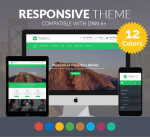 Justdnn Tense 12 Colors Responsive Theme / Business / Mega / Mobile / Parallax / Slider / Bootstrap