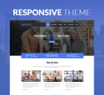 Hermes 15 Colors Responsive Theme / Corporate / Mega / Slider / Parallax / DNN6/7/8/9