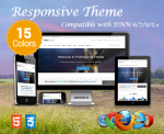 Professional / 15 Colors / Responsive / Bootstrap / Mega Menu / DNN 6.x, 7.x, 8.x & DNN 9.x