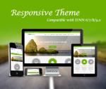 Garden Green Theme / Latest Bootstrap / CSS3 / HTML5 / Parallax / DNN 6.x, 7.x, 8.x & DNN 9.x