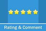 DNNSmart Rating And Comment 2.3.1 - Rating, Comment, approval, Reply, Azure Compatible, DNN9