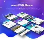 Minis Unlimited Responsive Multi-Purpose DNN Theme (V2.1.0) / Content Builder / 22 designs