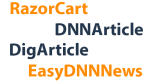 183 templates connect to RazorCart, EasyDNNnews, DNNArticle, DigArticle, Ventrian News