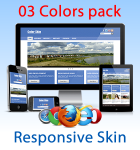Color Skin (03 Colors) / Responsive / Bootstrap / Retina Ready / Business / DNN 6.x, 7.x 8.x & 9.x
