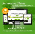 Garden Green / 30 Colors / Responsive / Bootstrap 4 / DNN 6.x, 7.x, 8.x & DNN 9.x
