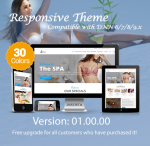 Spa / 30 Colors / Responsive / Mega Menu / DNN 6.x, 7.x, 8.x & DNN 9.x