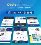Obvio WCAG & ADA Responsive Multi-Purpose DNN Theme (V2.0.0) / Content Builder / 11 designs