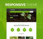 Justdnn Sallira 12 Color Pack / Green Garden / Business / Responsive Theme / Site / Parallax / DNN9