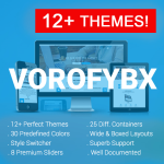 VOROFYBX / 12+ Themes / 30 Colors / Bootstrap / Mega Menu / Side Menu / DNN 6.x 7.x, 8.x & DNN 9.x