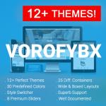 VOROFYBX / 12+ Themes / 30 Colors / Mega Menu / Bootstrap / Side Menu / DNN 6.x 7.x, 8.x & DNN 9.x