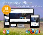 Professional / 15 Colors / Latest Bootstrap / Mega Menu / Responsive / DNN 6.x, 7.x, 8.x & DNN 9.x