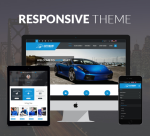 Justdnn AutoMart 12 Color Car Theme / Responsive / Mobile / Parallax / Automotive / DNN9