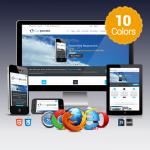 Corporate / 10 Colors / Bootstrap 4 / Ultra Responsive / Retina / DNN 6,7,8.x & DNN 9.x