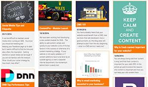 News listings example thumb
