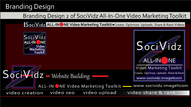 Branding Design 2 of SociVidz All-In-One Video Marketing Toolkit: Create, Optimize,Upload, Share and Rank Videos thumbnail