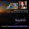 SociVidz Branding Design. Image size: 100x100 px