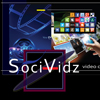 SociVidz Video Creation. Website Banner Size: 100x100px