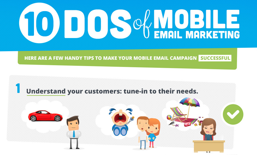 10 Consideration for Your Mobile Email Marketing [Infographic]