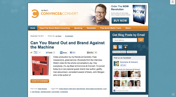 Convince & Convert by Jay Baer