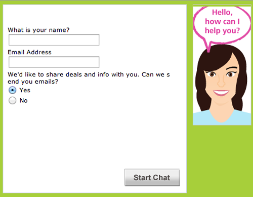 Real-time customer support
