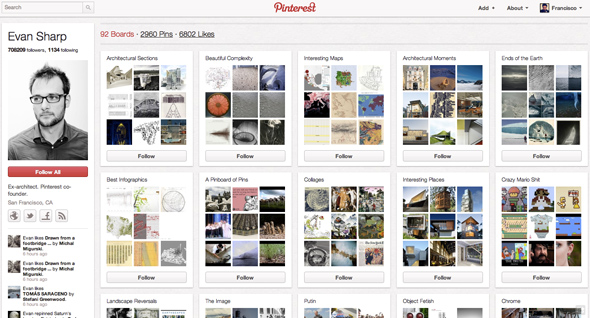 Evan Sharp on Pinterest