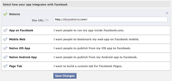 Your blog's integration to Facebook