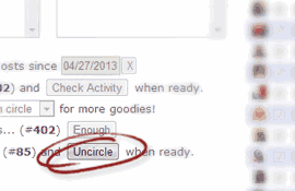 Uncircle Inactive Google Plus Users
