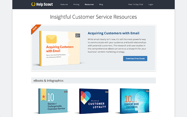 HelpScout Resources Page