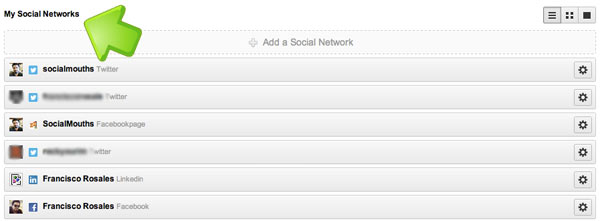 HootSuite - My Social Networks
