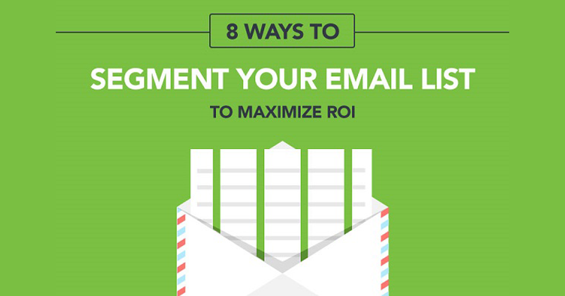 How to segment your email list to increase ROI