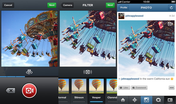 How to create video on Instagram