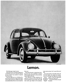 Marketing lessons from Volkswagen
