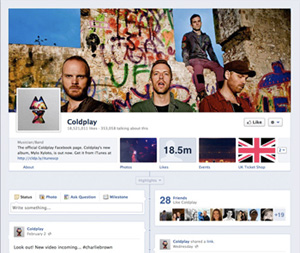 The new Facebook Pages
