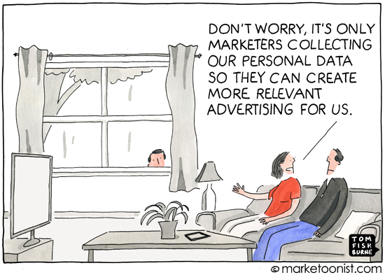 Personal Data - by Tom Fishburne