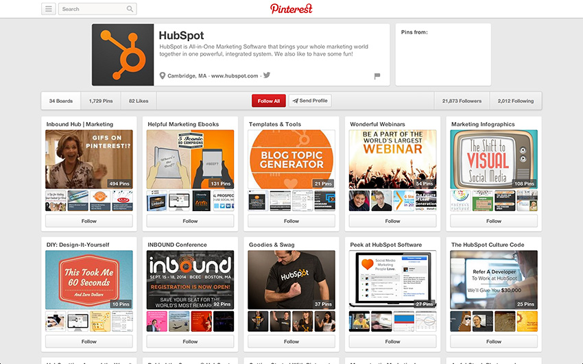 Keep your Pinterest boards organized