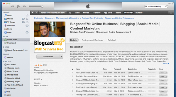 Podcast as Content Marketing