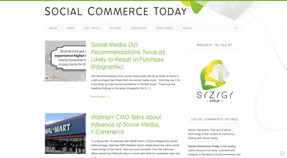 Social Commerce Today