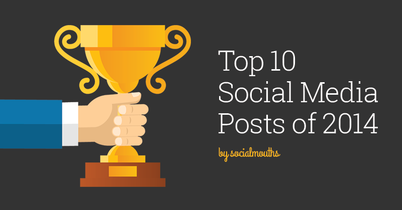 Top 10 Social Media Posts of 2014