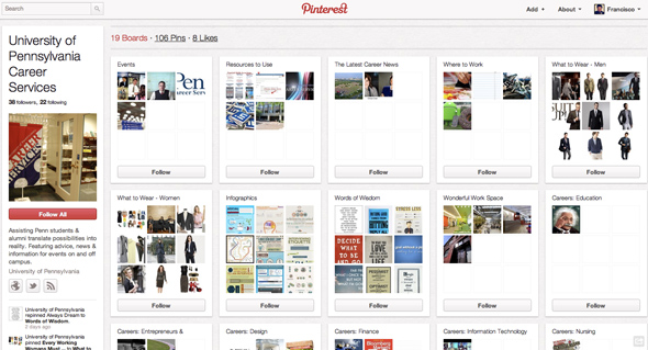 University of Pennsylvania on Pinterest