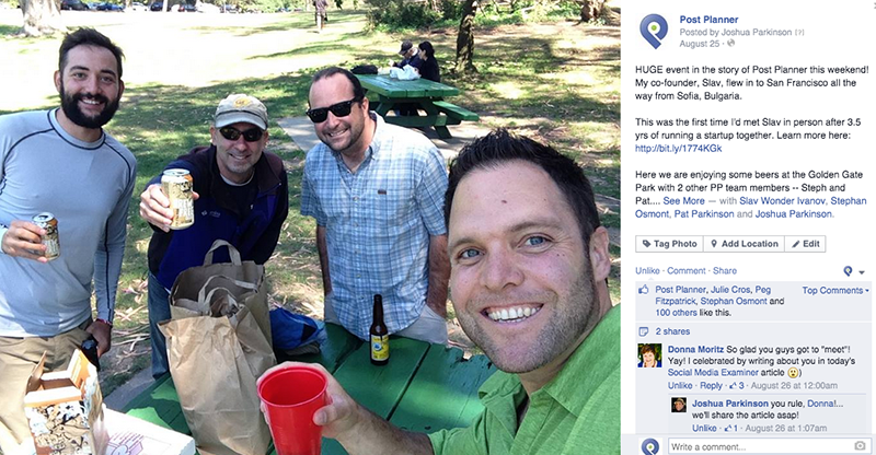 What to share on Facebook: Selfies