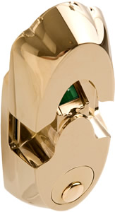 NextBolt Secure Mount - Polished Brass
