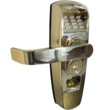 ReliTouch Handle Lock - Polished Brass